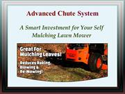 Advanced Chute System - Best Mulching Riding Mower