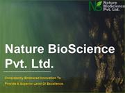 Nature BioScience - enzyme manufacturers