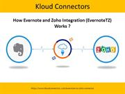 Evernote and Zoho CRM Integration