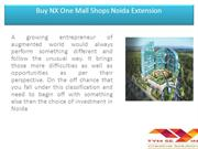 Buy NX One Mall Shops Noida Extension