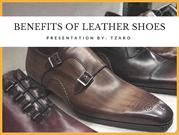 BENEFITS OF LEATHER SHOES