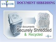 Why should you need recycling and secure document destruction service