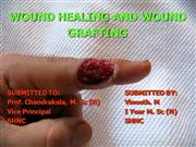 wound healing and grafting