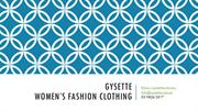 Gysette-Women's Fashion Clothing
