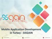 Top Mobile development service in Turkey | SISGAIN