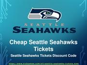 Seattle Seahawks 2018 Match Tickets