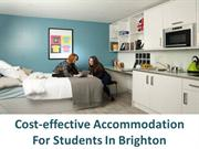 Cost-effective Accommodation For Students In Brighton