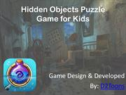 Hidden Objects Puzzle Game for Kids