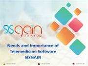 Needs and Importance of Telemedicine Software SISGAIN