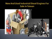 New And Used Industrial Diesel Engines For Sale In Taiwan