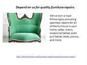 Antique Furniture Repair: AHM Furniture Service in Houston