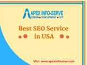 Best SEO Service in USA-Contact Apex Info-Serve