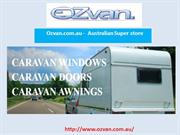 Caravan Parts, Caravan Accessories, Caravan Awnings | Ozvan.com.au