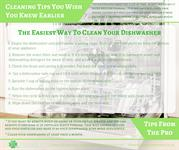 Cleaning TipsYou Wish You Knew Earlier - Dishwasher