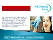 Welcome to All Cleaning Perth