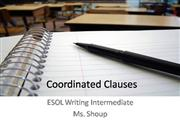 Coordinated Clauses