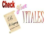 Check Your Vitales Chap 1