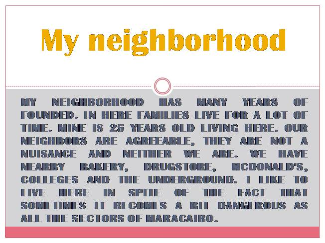 In My Neighborhood / En mi vecindario by Anna W. Bardaus | Scholastic