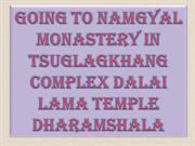 Going to Namgyal Monastery in Tsuglagkhang complex Dalai Lama Temple D