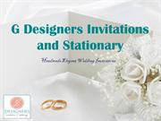 Luxurious Wedding Invitations for Bridal Shower