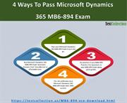 Microsoft Dynamics 365 MB6-894 Exam Questions