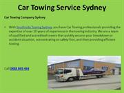 Car Towing Service Sydney