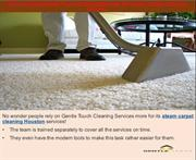 Why You Need Gentle Touch Cleaning Services For Steam Carpet