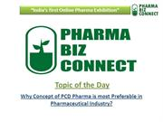 Why Concept of PCD Pharma is most Preferable in Pharma Industry