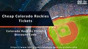 Colorado Rockies Match Tickets | Rockies Tickets Discount Coupon