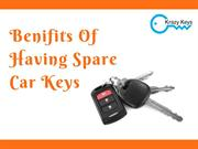 Affordable Solution For Lost Keys  Spare Car Keys