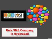 Bulk SMS Providers Hyderabad, Bulk Sms company in Hyderabad - SMSjosh