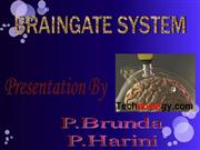 Braingate System - Mind to Movement