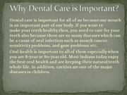 Why Dental Care is Important