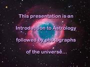 LINDA'S POWERPOINT ASTROLOGY CLASS with