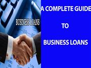 The Ultimate Guide To Business loan