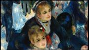 Art in Detail_Dance at Le Moulin de la Galette by RENOIR, Pierre-Augus