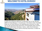 Hotels in Shimla with parking