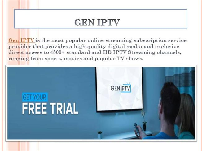 Watching Latest News IPTV - Gen IPTV |authorSTREAM