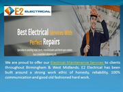 Electrical Maintenance Service in Birmingham