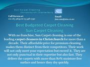 Best Budgeted Carpet Cleaning: Sun Carpet Cleaning