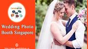 Get Best Service for Wedding Photo Booth in Singapore from Candidshots