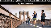 Essential Body weight Exercises to Ward off Low Back Pain By Jim Neuma