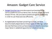Amazon Prime Technical Support - Gadget Care Service