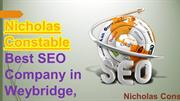 Nicholas Constable Best SEO Company in Webridge, London (UK)