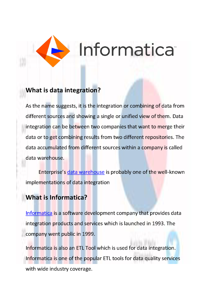 What is Informatica? | Companies Using Informatica | Informatica
