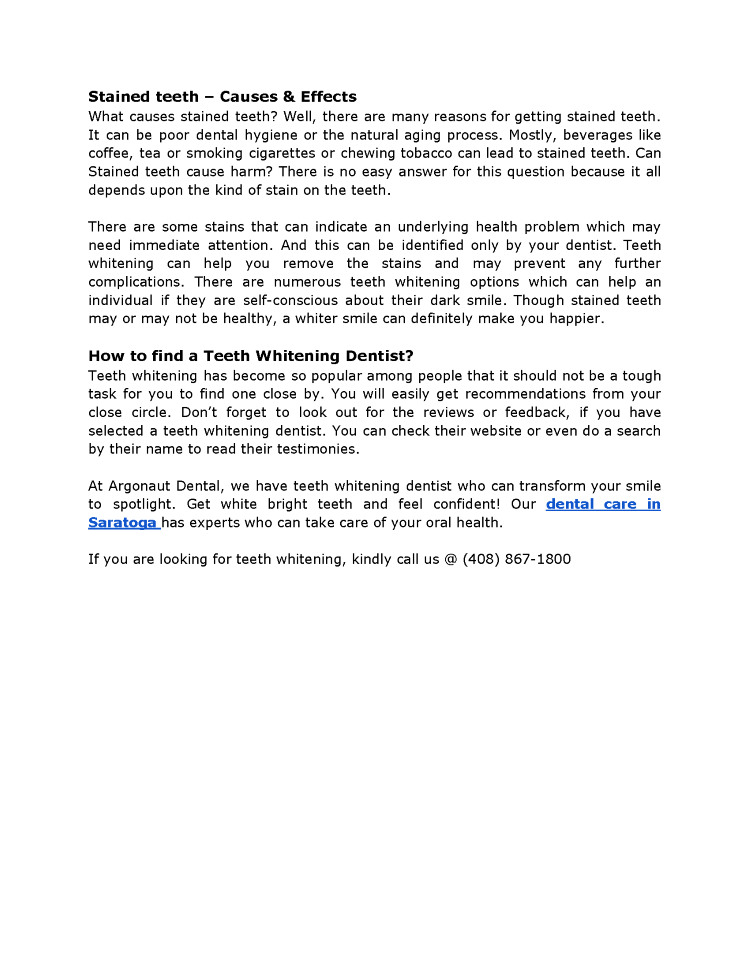 Teeth Whitening - Why a Teeth Whitening Dentist? |authorSTREAM