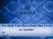 We Help You Move from One Level to Another