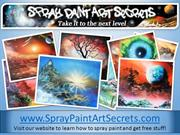Spray Paint Art Photos By Alisa Amor - Spray Paint Art Secrets