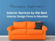 Interior Services by the Best Interior Design Firms in Mumbai
