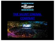 Silent Cinema Hire London, UK | Outdoor Cinema Screen Hire